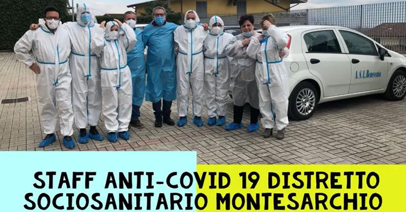 Il Video del Distretto Sanitario Montesarchio per Rsa Donatello